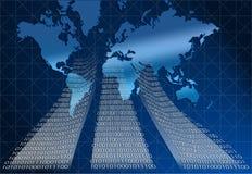цифровой мир Стоковые Фотографии RF