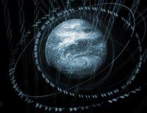 цифровой мир 3d Стоковые Изображения RF