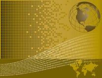 цифровой мир Стоковые Изображения RF