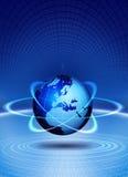 цифровой мир Стоковые Фото