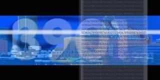 цифровой поток Стоковое Фото