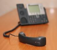 цифровой приемник телефона фокуса Стоковое фото RF
