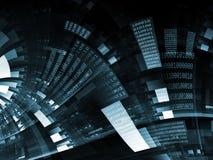 цифровой процесс Стоковое Изображение