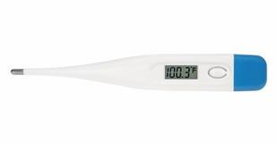 цифровой термометр fahrenheit стоковая фотография rf