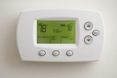 цифровой термостат стоковое изображение rf