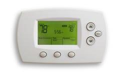цифровой термостат стоковая фотография rf