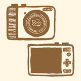 цифровой фотокамера Карманн-размера Стоковые Фотографии RF
