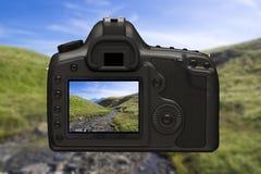Цифровой фотокамера Стоковые Изображения