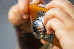 Цифровой фотокамера Стоковые Фотографии RF