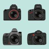 Цифровой фотокамера DSLR Стоковая Фотография RF