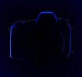 Цифровой фотокамера SLR Стоковое Фото