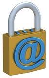 цифровой padlock Стоковые Фотографии RF