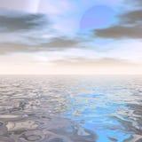 цифровой seascape бесплатная иллюстрация