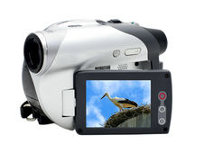 цифровой videocamera Стоковое Изображение RF