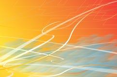цифровые волны подкладки Стоковая Фотография RF