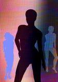 цифровые женщины Стоковая Фотография RF