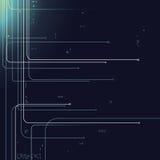 Цифровые линии иллюстрация штока