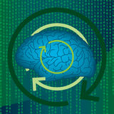 цифровые разумы Стоковое фото RF
