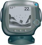 цифровые рыбы искателя Стоковое фото RF