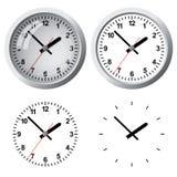 Цифровые часы установленные стеной Стоковые Изображения RF