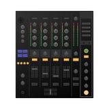 Цифров DJ украшают, смеситель вектор Стоковые Фотографии RF