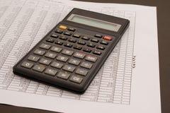 Цифры и финансы стоковые изображения rf