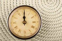 цифры римский tim 12 часов часов Стоковая Фотография RF