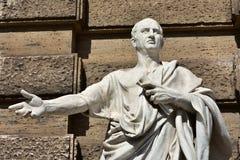 Цицерон, большой оратор старого Рима Стоковое фото RF