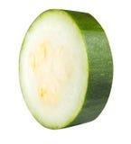 Цукини vegetable сердцевины сквоша изолированный на белой предпосылке Стоковое Изображение