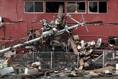 Цунами Япония fukushima 2011 Стоковые Изображения RF