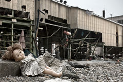 Цунами Япония fukushima 2011 Стоковая Фотография