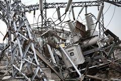 Цунами Япония fukushima 2011 Стоковое Изображение