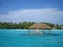 цунами 2 Мальдивов Стоковая Фотография