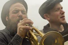 Цыгане джазового музыканта Стоковые Фотографии RF