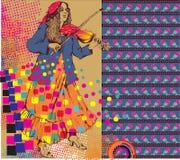 Цыганская женщина бесплатная иллюстрация
