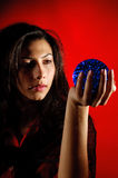 цыганская женщина стоковые изображения rf