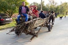Цыганская семья стоковое фото