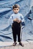 Цыганский мальчик стоковое фото
