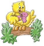 цыпленоки милые Стоковая Фотография