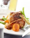 цыпленок абрикоса Стоковое фото RF
