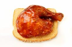 цыпленок барбекю Стоковая Фотография RF