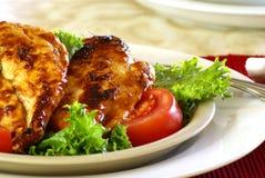 цыпленок барбекю Стоковые Фото