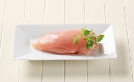 цыпленок груди сырцовый стоковая фотография