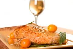 Цыпленок застекленный Kumquat Стоковые Фотографии RF