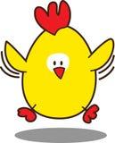 цыпленок милый немногая иллюстрация вектора