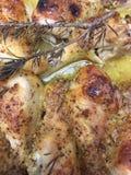 Цыпленок мустарда меда стоковые фото