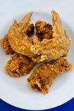 Цыпленок на тарелке Стоковые Изображения RF