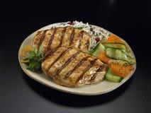 цыпленок овощи риса Стоковая Фотография RF