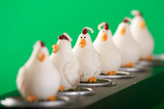 цыпленок свечки Стоковое Изображение