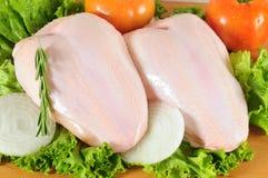цыпленок сырцовый Стоковые Изображения RF